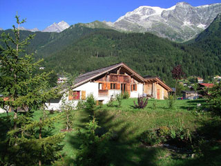West side of the chalet