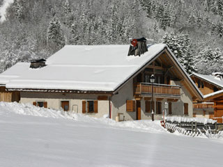 East side of the chalet